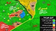 عملیات مشترک داعش و آمریکا علیه نیروهای ارتش سوریه