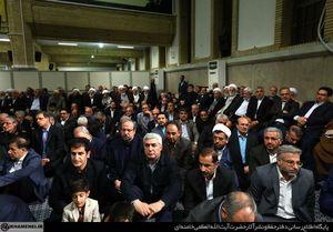 عکس/ابراهیم حاتمیکیا در دیدار با رهبر انقلاب