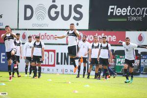عکس/ تمرینات تیم ملی فوتبال در ترکیه
