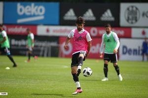 تمرینات تیم ملی فوتبال ایران در ترکیه