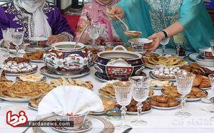 سنتهای جالب مسلمانان مراکش در ماه رمضان +تصاویر