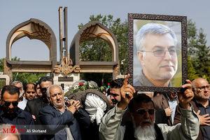 مراسم تشییع پیکر مرحوم موسوی
