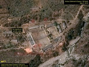 فیلم/ لحظه انهدام پایگاه آزمایش هستهای کره شمالی