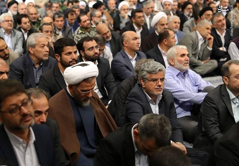 محمود صادقی و حجت الاسلام احمد مازنی نمایندگان عضو فراکسیون امید مجلس