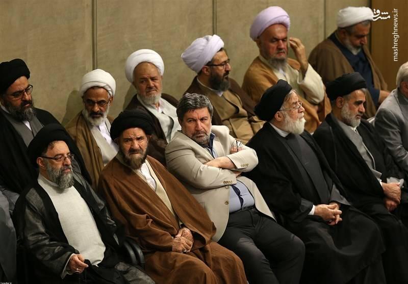 الیاس حضرتی مدیر مسئول روزنامه اعتماد و رئیس شورای اجرایی حزب اعتماد ملی