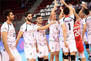والیبال ایران - فرانسه