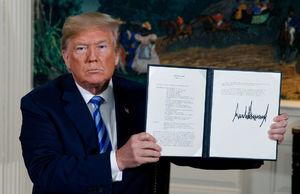 خروج ترامپ از برجام گامی در جهت تغییر حکومت ایران است/ اروپاییها باید نشان بدهند چهقدر در حفظ توافق جدی هستند