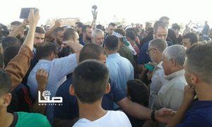 عکس/ حضور اسماعیل هنیه در تظاهرات بازگشت