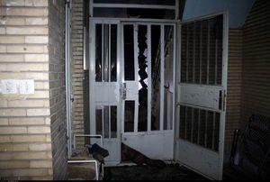 عکس/ تخریب یک منزل مسکونی بر اثر انفجار گاز