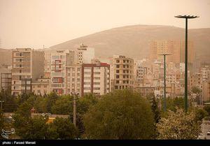 عکس/ هجوم ریزگردها به کرمانشاه