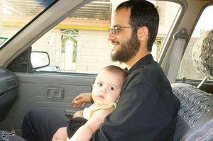 پسر پنج ساعت بعد از حرکت پدر به سوریه متولد شد
