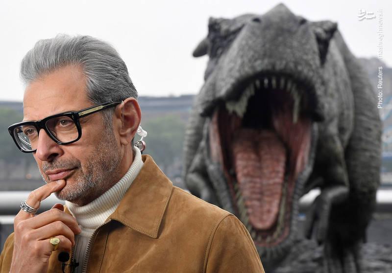 جف گلدبلوم بازیگر فیلم جدید «ژوراسیک پارک» با نام «پادشاهیِ ساقطشده»  طی مصاحبهای در لندن در آستانه اکران فیلم