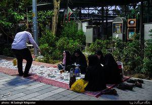 عکس/ افطاری در گلزار شهدای بهشت زهرا(س)