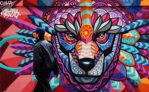 عکس/ گرافیتیهای جام جهانی در مسکو