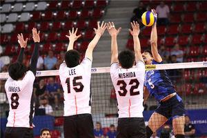 شوک بزرگ ژاپن به والیبال ایران/  ایران بعد از 3 سال به چشم بادامی ها باخت +عکس و فیلم
