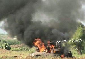 حمله موشکی به انبار سلاح عربستان در جیزان