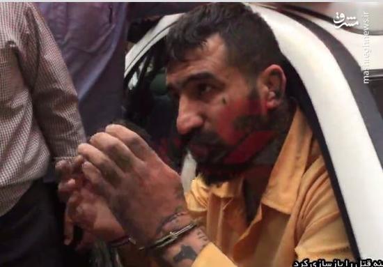 بازسازی صحنه قتل توسط شرور معروف تهران