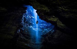 بزرگترین غار زیرزمینی بریتانیا