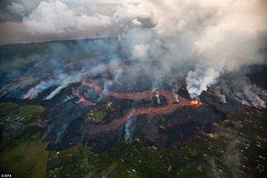 تصاویر جدید از ادامه فوران آتشفشان هاوایی