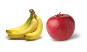 سیب مغذیتر است یا موز؟
