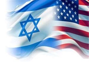 پرچم نمایه امریکا و اسرائیل