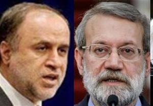 دیدار «حاجیبابایی» و «لاریجانی» درباره ریاست مجلس