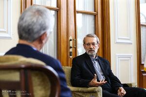توصیه لاریجانی به شهردار جدید تهران