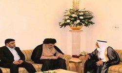 صدر  با امیر کویت دیدار کرد