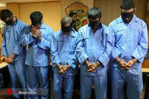 عکس/ بازداشت عوامل تیراندازی در مشهد