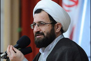 تبریک حجت الاسلام ماندگاری به همسر شهید حججی