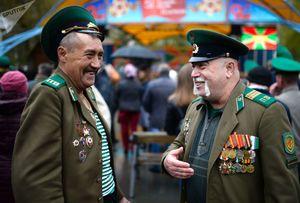 عکس/ جشن روز مرزبانی در مسکو