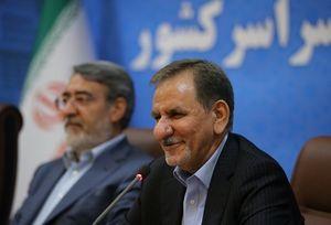 جهانگیری: سرنوشت ایران، نظام و دولت به یکدیگر گره خورده است
