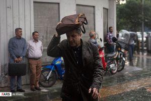 بعد از ظهر بارانی برای 21 استان