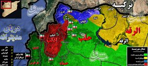 توافق جدید مسکو، آنکارا و تهران؛ هفت ایستگاه مراقبتی نیروهای ایرانی در شمال سوریه + نقشه میدانی