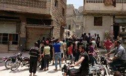 انفجار مهیب در میان تروریستها در ادلب سوریه