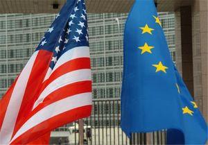 پرچم نمایه امریکا و اروپا