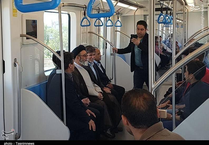 حضور بدون تشریفات آلهاشم در بین مردم و بازاریان تبریز