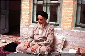 روایتی از تشرف امام خمینی(ره) به حرم عبدالعظیم(ع) +عکس