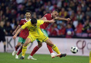 توقف مراکش در دیدار دوستانه مقابل اوکراین