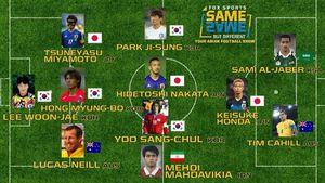 عکس/ مهدویکیا در تیم منتخب تمام ادوار آسیا در جام جهانی