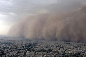 هجوم عجیب ریزگردها به استان خوزستان