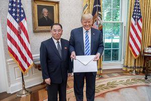 نامه غول پیکر کیم جونگ اون به ترامپ