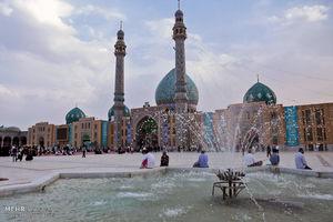 فیلم/ آیین باشکوه خطبهخوانی در مسجد جمکران