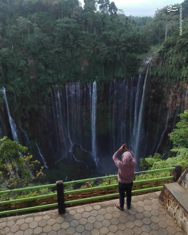 عکس آبشار زیباترین مناطق گردشگری زیباترین مناطق توریستی دنیا زیباترین آبشار جاهای دیدنی جهان جاهای دیدنی اندونزی اندونزی کجاست اخبار اندونزی