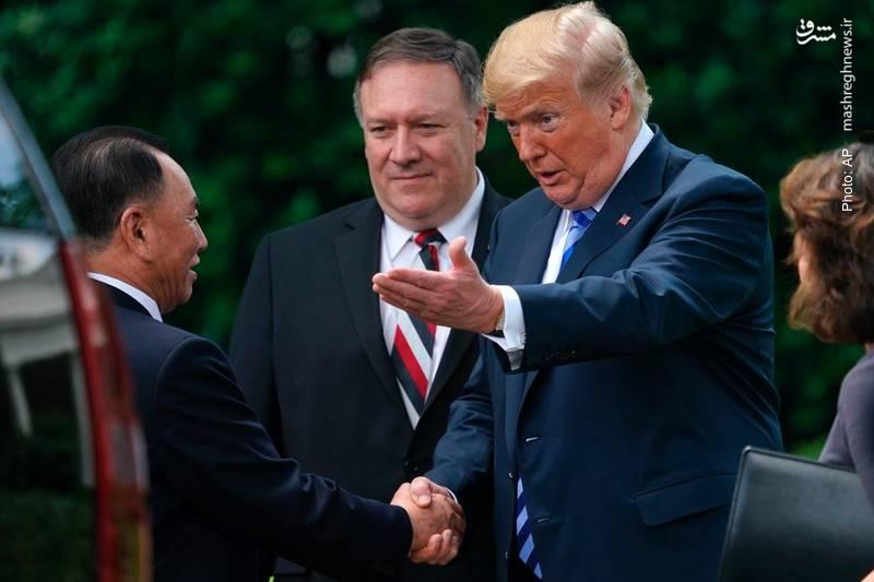 دیدار فرستاده رهبر کره شمالی با ترامپ و پمپئو برای درخواست مجدد دیدار سران دو کشور