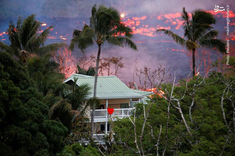 تداوم فوران آتشفشان در جزایر تفریحی هاوایی