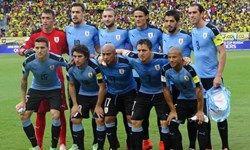 لیست نهایی تیم ملی اروگوئه در جام جهانی 2018