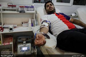 عکس/ اهدا خون در ماه رمضان