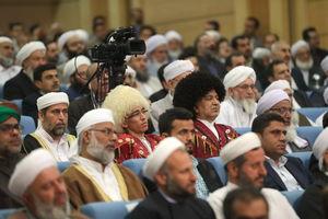 عکس/ دیدار روحانی  با علماء اهل سنت