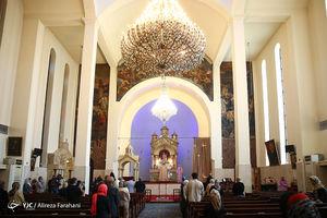 عکس/ بزرگداشت امام خمینی(ره) در کلیسای سرکیس مقدس